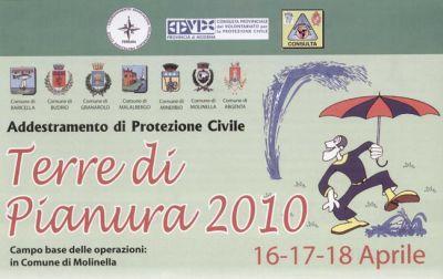 """Addestramento di Protezione Civile """"Terre Di Pianura 2010"""""""