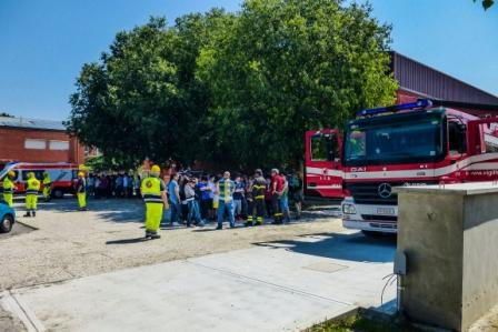 2015 Evacuazione medie