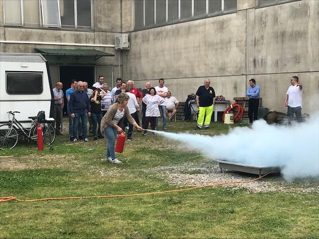 2019 Aprile - Corso Antincendio